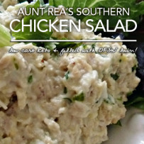 Aunt Rea S Chicken Salad Low Carb Southern Goodness