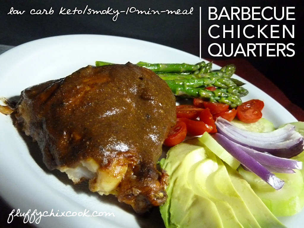 Barbecue Chicken Quarters – Low Carb |Sugar Free