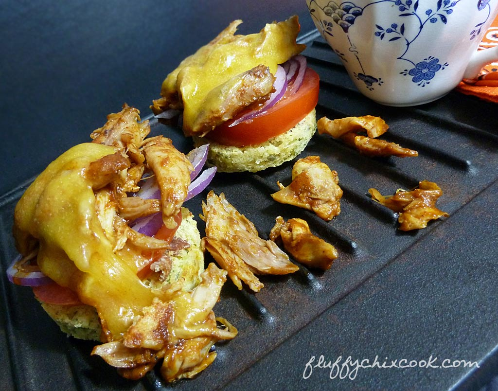bbq-pulled-chicken-muffin