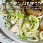 Creamy Chicken Alfredo with Zoodles – Dr. Westman's No Sugar No Starch Diet Meal Plans