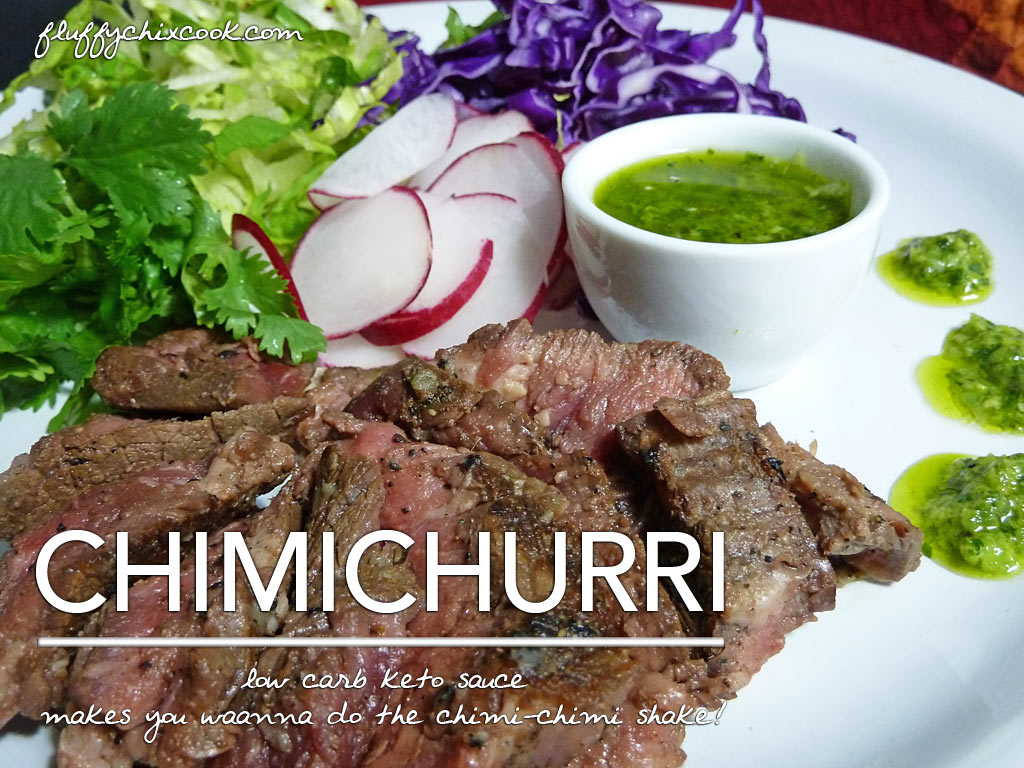 Chimichurri Sauce – Naturally Low Carb Keto Love