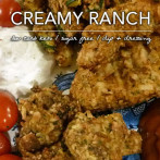 Creamy Ranch Dressing – Low Carb Keto and Sugar Free