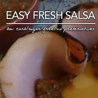 Easy Fresh Salsa – Low Carb Keto | Sugar Free