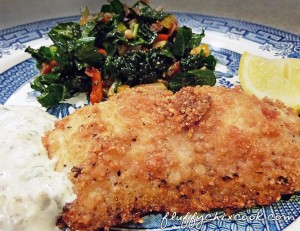 Low carb substitute for breadcrumbs for Carbs in fried fish