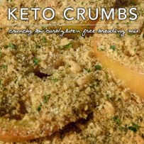 Keto Crumbs – Low Carb Gluten Free Breadcrumb Mix