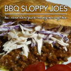 Quick BBQ Sloppy Joes – Atkins Induction Meal Plans