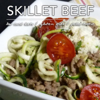 Skillet Beef with Zoodles – Atkins Induction Meal Plans