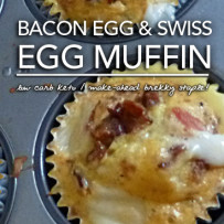 Bacon Swiss Egg Muffins