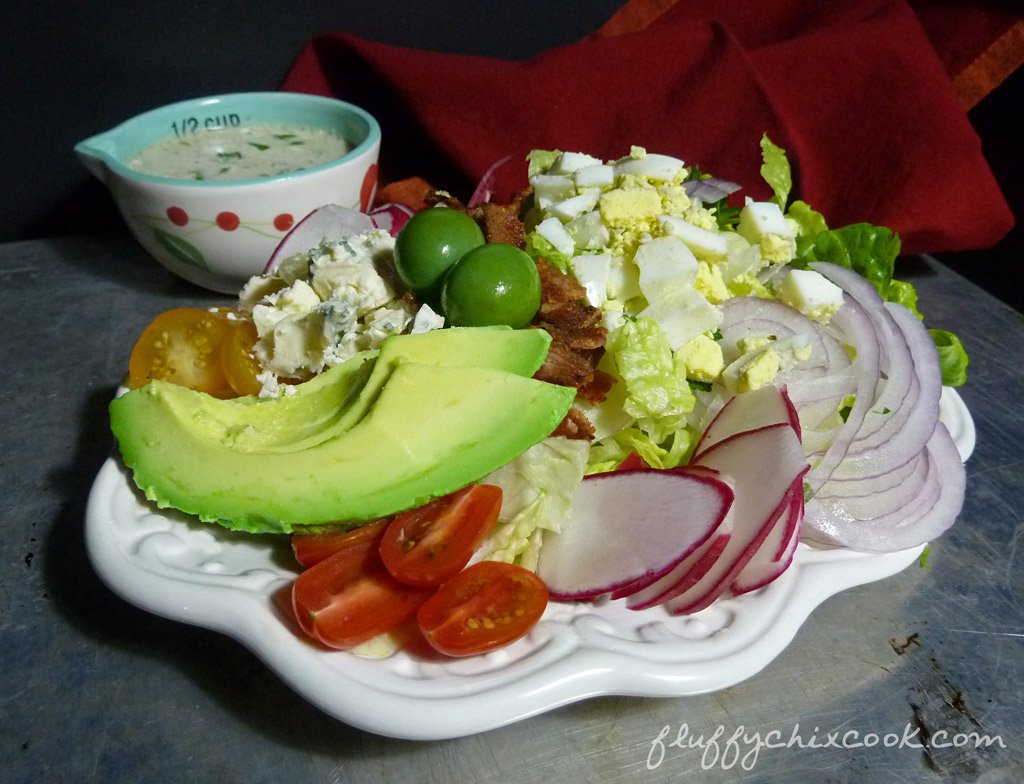 cobb-salad-blue-cheese-vinaigrette