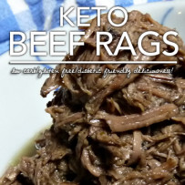 Keto Beef Rags – Low Carb & Diabetic Friendly