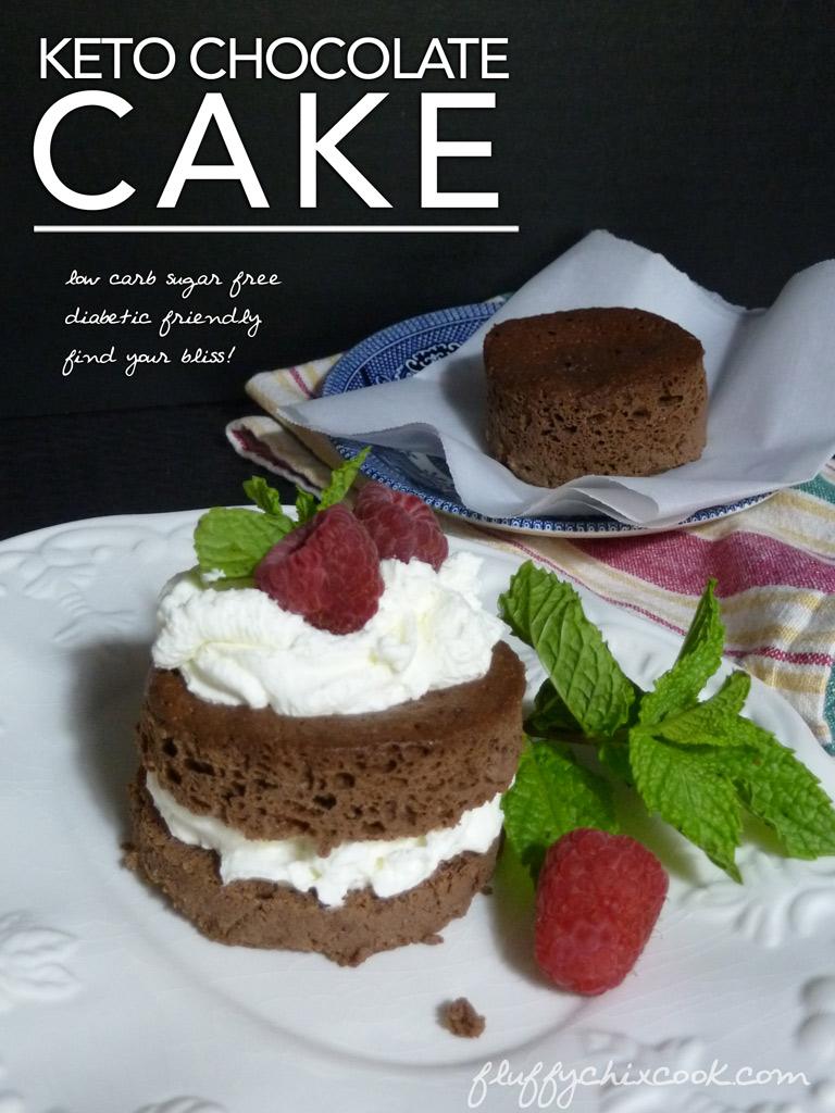 Keto Chocolate Cake Fluffy Chix Cook