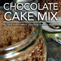 Keto Chocolate Cake Mix – Low Carb & Diabetic Friendly