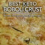 Keto Boboli Copykat – Low Carb Keto & Gluten Free