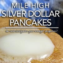 Mile High Silver Dollar Pancakes – Low Carb | Gluten Free Options