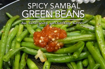 Spicy Sambal Green Beans – Low Carb & Gluten Free