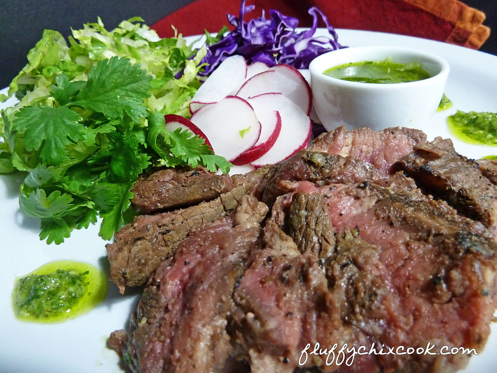 Steak & Chimichurri Salad – Easy Button Low Carb Recipes | Fluffy ...