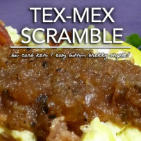 Spicy Tex-Mex Scramble – Dr. Westman's No Sugar No Starch Diet – Sept. 10, 2014
