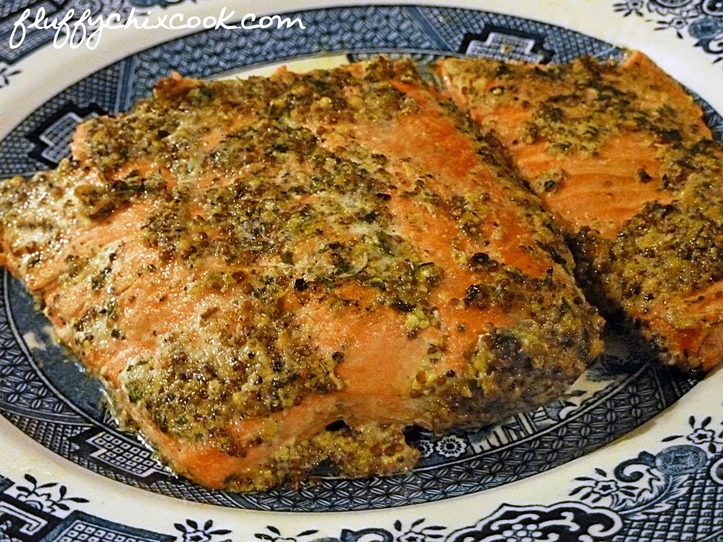 SalmonMustardGlaze