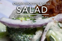 Creamy Broccoli Cauli Salad – Low Carb & Sugar Free