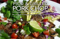 Grilled Pork Chops with Pico De Gallo – Dr. Westman's No Sugar No Starch Diet Week 2|Day 5