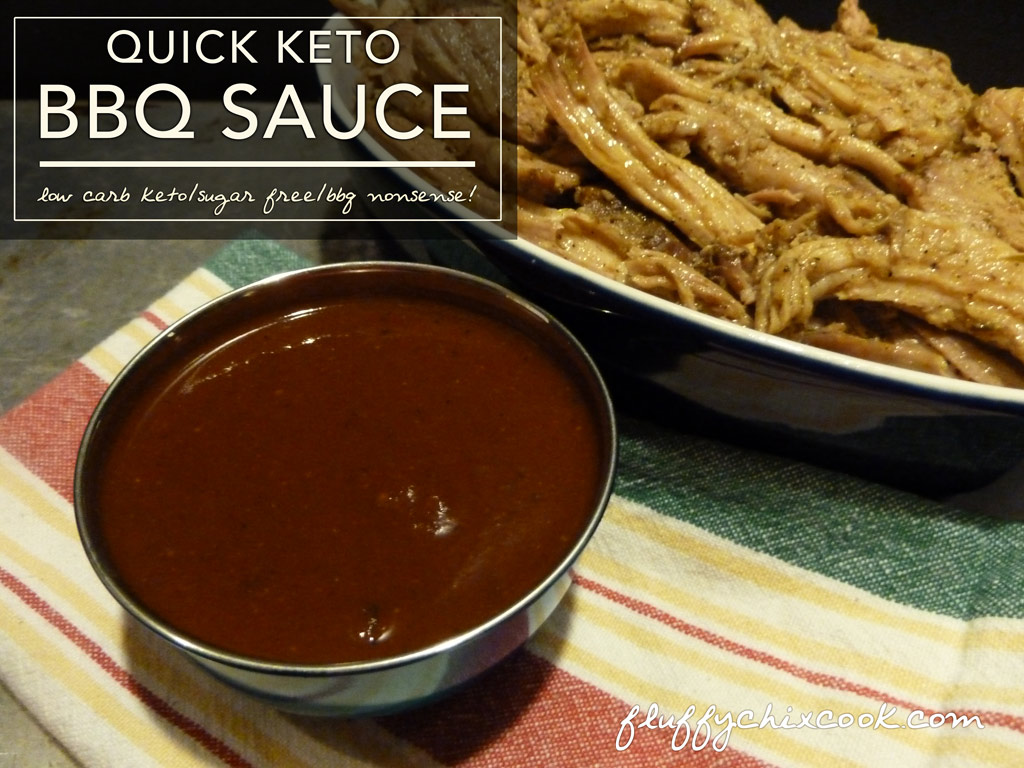 Quick Keto Barbecue Sauce – Low Carb | Sugar Free