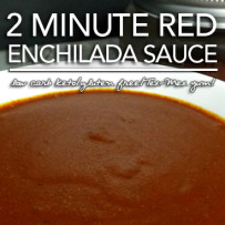 2 Minute Red Enchilada Sauce – Low Carb Keto|Grain Free|Gluten Free