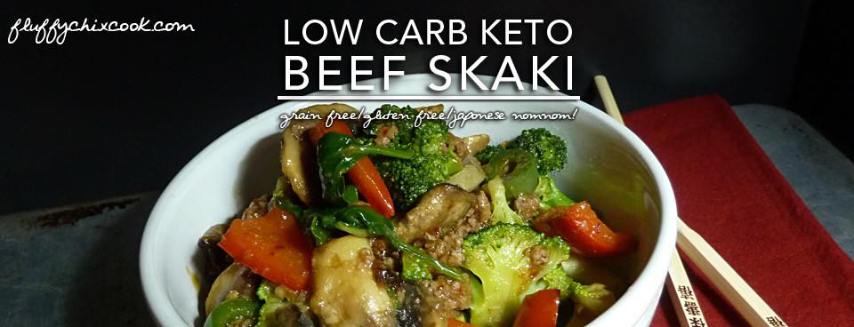 Beef Skaki – A Low Carb Keto Japanese Favorite