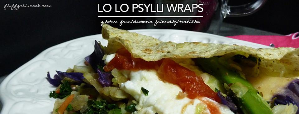 Egg Fast Recipe – Lo Lo Psylli Wraps – Version 4 | Induction | Grain Free & Gluten Free