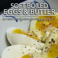 Perfect Soft Boiled Eggs with Butter and Truffle Salt – Low Carb Keto Perfection