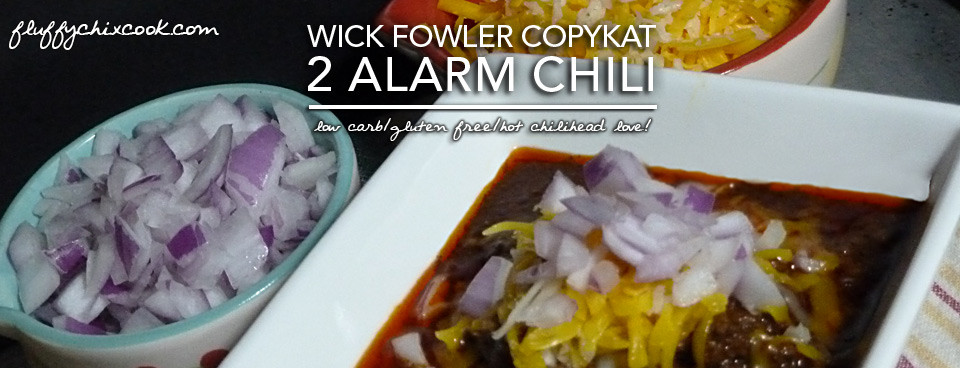 Wick Fowler's 2 Alarm Chili Copykat – Low Carb & Gluten Free