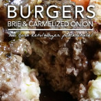 All Day I Dream About Food's Mushroom Brie Burger – A Burger Tale of Brie Proportions