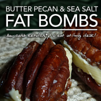 Butter Pecan Fat Bombs – Cr*p I Eat at My Desk
