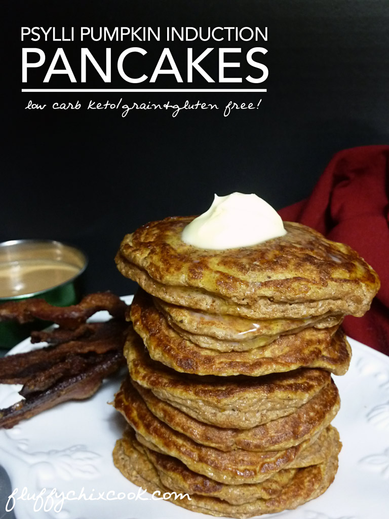 Psylli Pumpkin Spice Pancakes – Low Carb Induction Inspired | Gluten Free