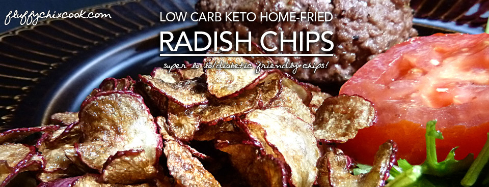 Radish Chips | A Low Carb Keto Potato Chip Alternative