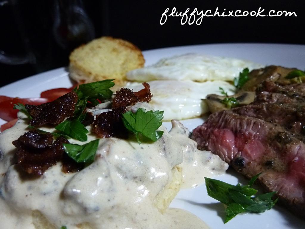bacon-gravy-biscuit-steak-eggs