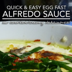 Egg Fast Alfredo Sauce – Low Carb Keto Nirvana