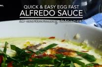 Egg Fast Alfredo Sauce – Low Carb Keto Nirvana