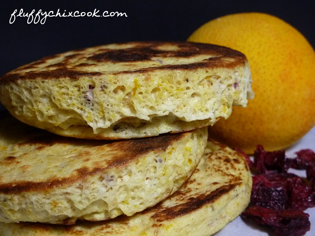 orange-cranberry-english-muffin-close