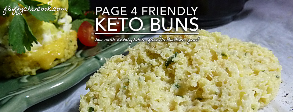 Keto Buns – Gluten Free   Low Carb Page 4 & Induction Friendly