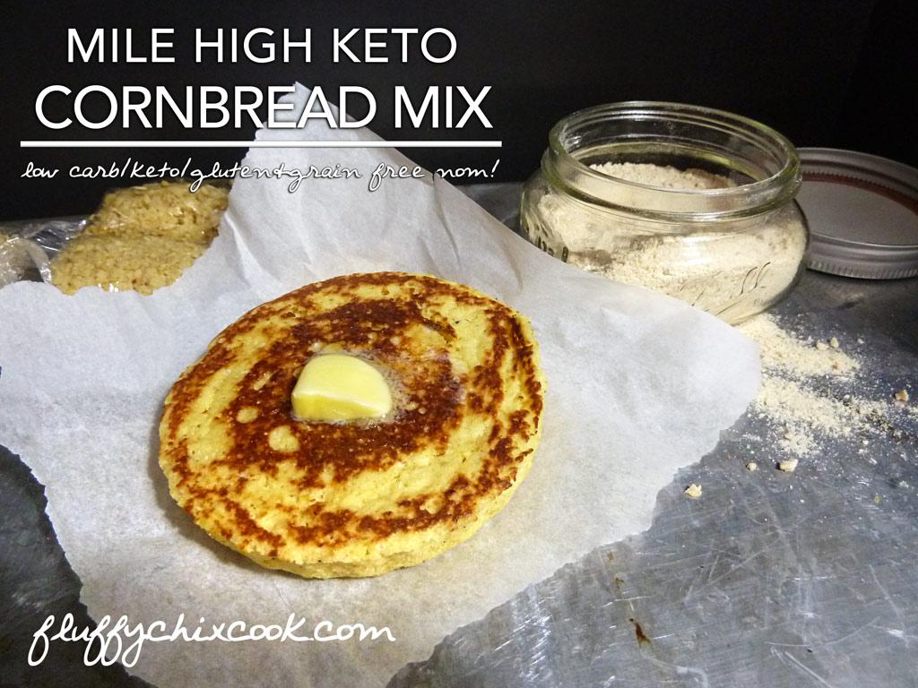 Mile High Keto Cornbread Mix