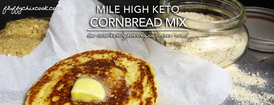 Mile High Keto Cornbread Mix