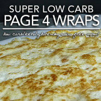 Page 4 Wraps – Low Carb Keto Tortillas (Induction Friendly|Gluten & Grain Free)