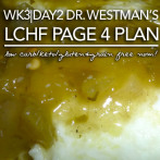 Pan Seared Sugar Free Teriyaki Cod Loins – Dr. Westman's No Sugar No Starch Page 4 Meal Plan Week 3 | Day 2
