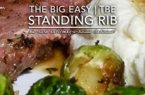 Fluffy Chix Cook Reviews Char-Broil The Big Easy Oil-less Fryer and Shares The Big Easy Standing Rib Roast Method