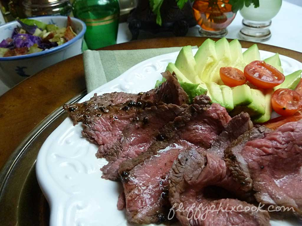 pan-seared-sirloin-steak-arranged-on-plate
