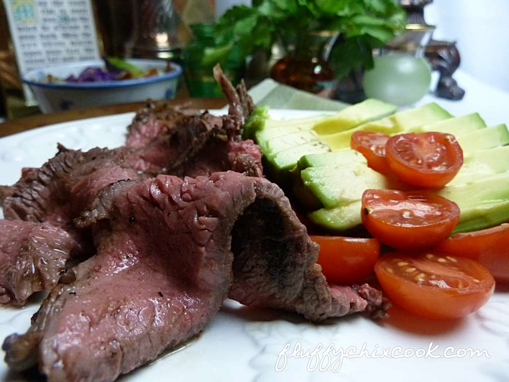 pan-seared-sirloin-steak-avocado-tomato-salad