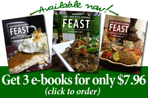 3 Feast e-books by Fluffy Chix Cook