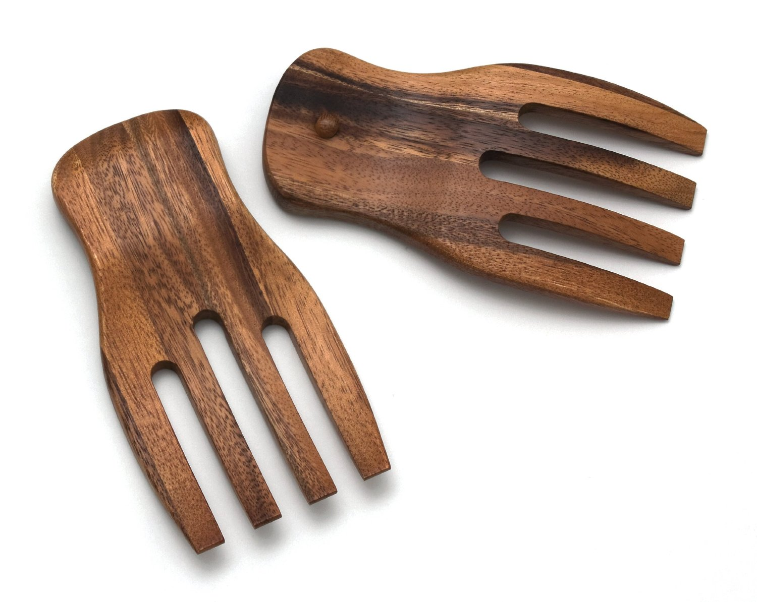 (click image to order from Fluffys' trusted Amazon Partner) Wooden salad tongs make tossing salads easy.