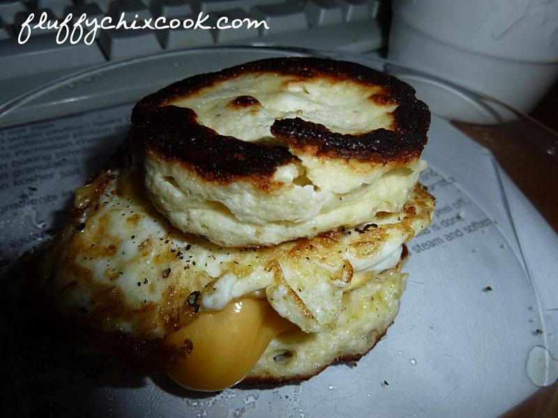 Egg Fast Breakfast Biscuit Recipe