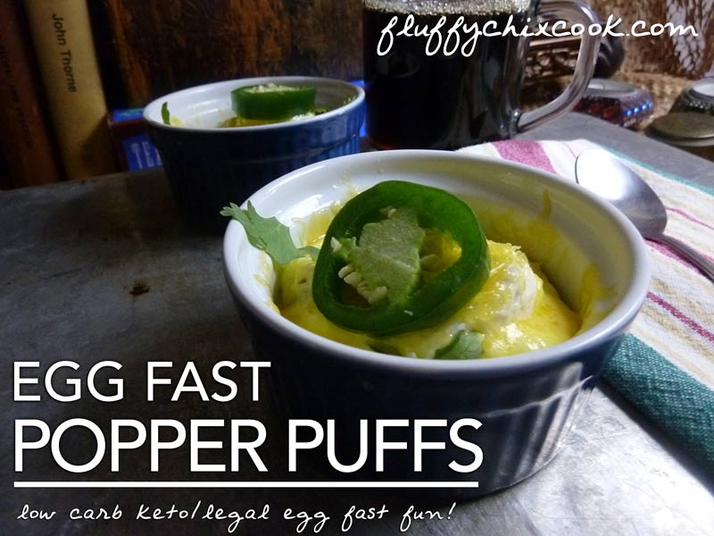 Simple Egg Fast Popper Puffs Put Excitement Back in Low Carb Keto Breakfasts